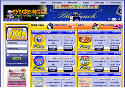 Play Now at Cyber Bingo